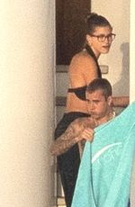 HAILEY and Justin BIEBER on Their Romantic Getaway at island of Milos 06/30/2021