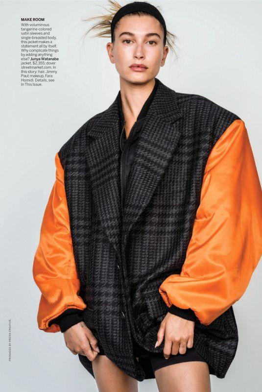 HAILEY BIEBER in Vogue Magazine, August 2021