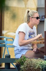 HAILEY CLAUSON Out for Breakfast in Los Angeles 07/21/2021