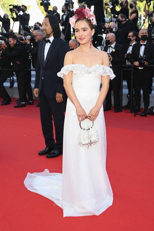 HALEY LU RICHARDSON at Stillwater Screening at 2021 Cannes Film Festival 07/08/2021
