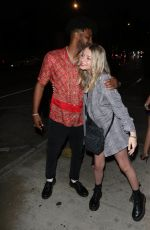 HALEY SULLIVAN Night Out in Los Angeles 07/25/2021