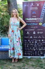 HEATHER GRAHAM at Filming Italy Festival Photocall in Santa Margherita di Pula 07/23/2021