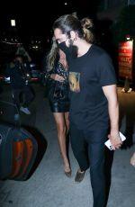 HEIDI KLUM and Tom Kaulitz at E Baldi in Santa Monica 07/01/2021