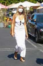 HEIDI KLUM and Tom Kaulitz at Fred Segal in West Hollywood 07/03/2021