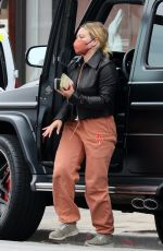 HILARY DUFF Out and About in Los Angeles 07/26/2021