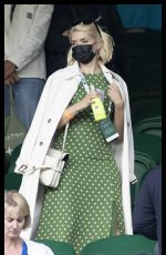 HOLLY WILLOGHBY at Wimbledon Tennis Championship in London 07/05/2021