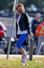 ISLA FISHER Out at a Park in Sydney 07/08/2021