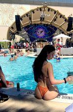 IVA KOVACEVIC in Bikini at AYU Day Club Grand Opening in Las Vegas 07/05/2021