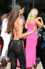 IZABEL GOULART Leaves Hotel Martinez in Cannes 07/08/2021
