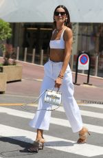 IZABEL GOULART Out at Croisette in Cannes 07/10/2021