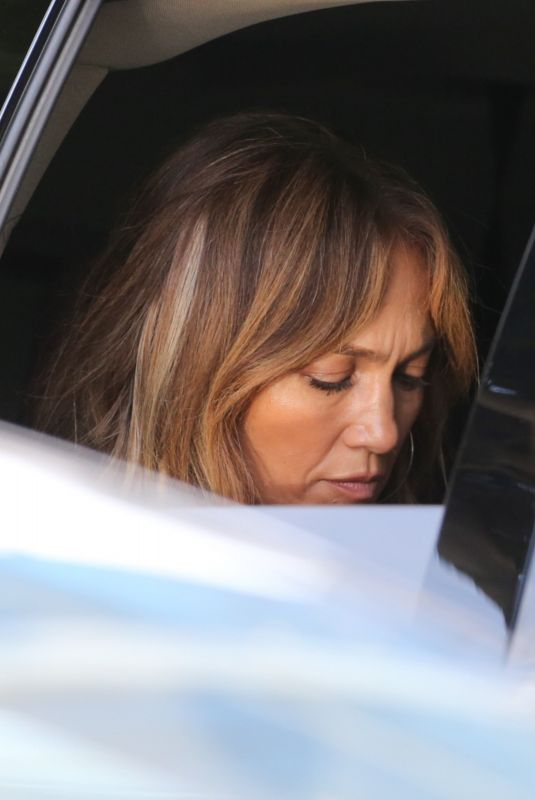 JENNIFER LOPEZ Leaves Her office in Beverly Hills 07/08/2021