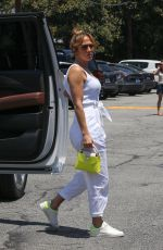 JENNIFER LOPEZ Out at Brentwood Country Mart 07/09/2021