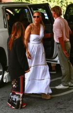 JENNIFER LOPEZ Out for Dinner in Beverly Hills 07/10/2021