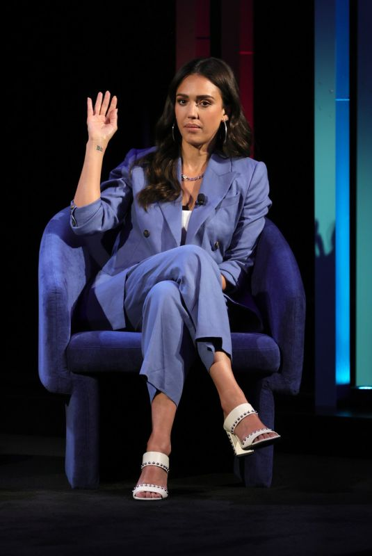 JESSICA ALBA at AT&T 5G Immersive Event in New York 07/14/2021