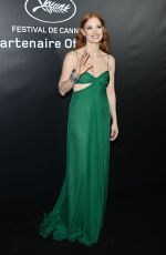 JESSICA CHASTAIN at Chopard Trophy Photocall at 74th Annual Cannes Film Festival 07/09/2021