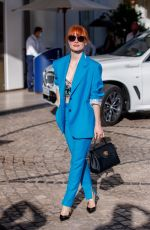 JESSICA CHASTAIN Out at 2021 Cannes Film Festival 07/09/2021