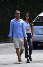 JORDANA BREWSTER and Mason Morfit Out in Brentwood 07/15/2021