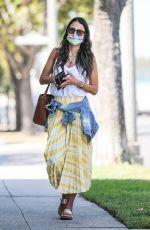 JORDANA BREWSTER Out and About in Beverly Hills 07/21/2021