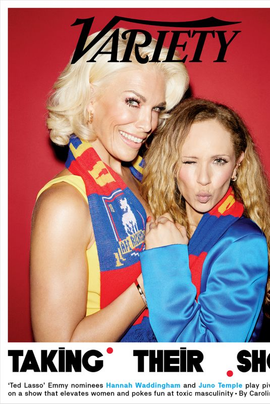 JUNO TEMPLE and HANNAH WADDINGHAM in Variety Magazine, July 2021