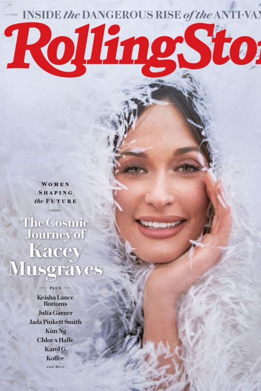 KACEY MUSGRAVES in Rolling Sone Magazine, March 2021