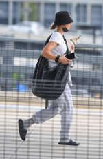 KALEY CUOCO Arrives at JFK Airport in New York 07/24/2021