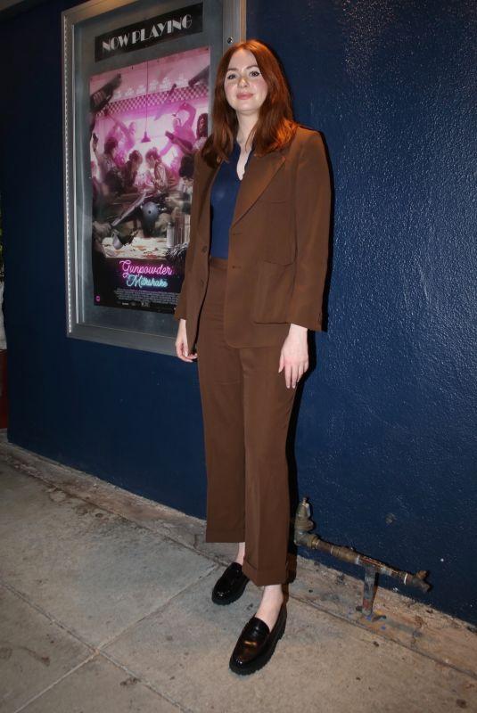 KAREN GILLAN at Gunpowder Milkshake Q&A at Beverly Hills Cinemas 07/14/2021
