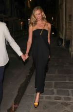 KARLIE KLOSS Out for Dinner in Paris 07/07/2021