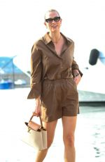 KARLIE KLOSS Out in Saint-Tropez 07/23/2021
