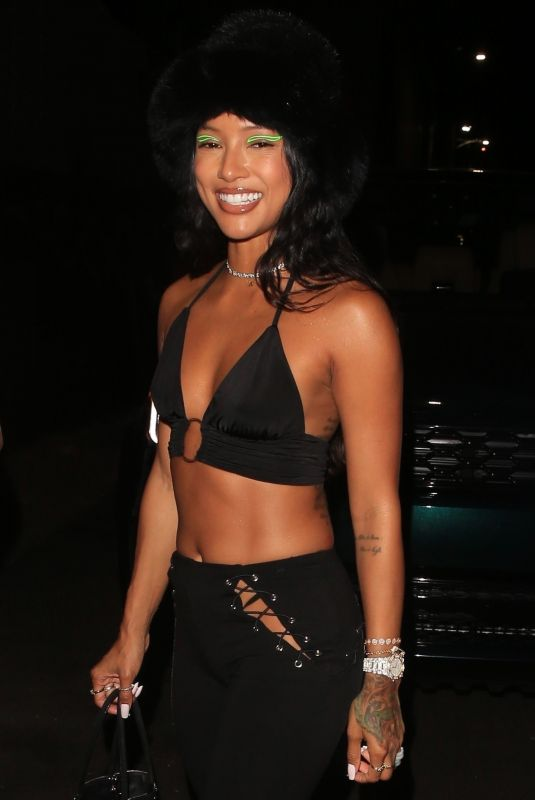 KARRUECHE TRAN at Pretty Little Thing Madhouse Event in Los Angeles 07/03/2021