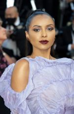 KAT GRAHAM at OSS 117: From Africa With Love Screening at 2021 Cannes Film Festival 07/17/2021