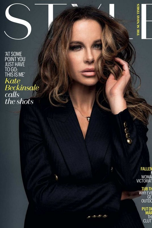 KATE BECKINSALE in The Sunday Times Style Magazine, July 2021