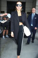 KATE BECKINSALE Leaves Her New Netflix Project After Life. Press Tour in New York 07/23/2021