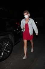 KATE MARA Out for Dinner at Craig