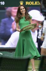 KATE MIDDLETON at Wimbledon Tennis Championships Women