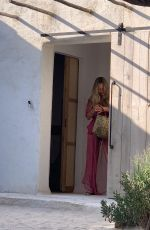 KATE MOSS Out for Lunch in Ibiza 07/29/2021