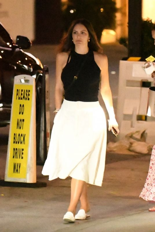 KATHARINE MCPHEE Out for Dinner at Mr. Chow in Beverly Hills 07/20/2021