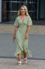KATIE PIPER Leaves Media City in Salford 07/21/2021
