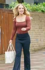 KATIE PIPER Out and About in London 07/28/2021