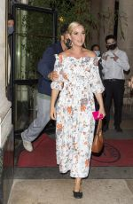 KATY PERRY Out for Dinner in Paris 07/07/2021