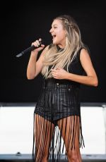 KELSEA BALLERINI Performs at Faster Horses Festival at Michigan International Speedway 07/17/2021