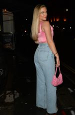 KELSEY STRATFORD at MNKY House in London 07/25/2021