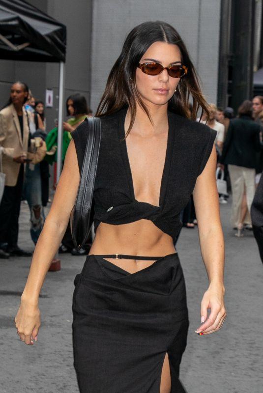 KENDALL JENNER Leaves Jacquemus Show at Paris Fashion Week 06/30/2021