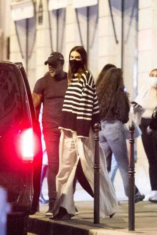 KENDALL JENNER Out and About in Paris 06/29/2021