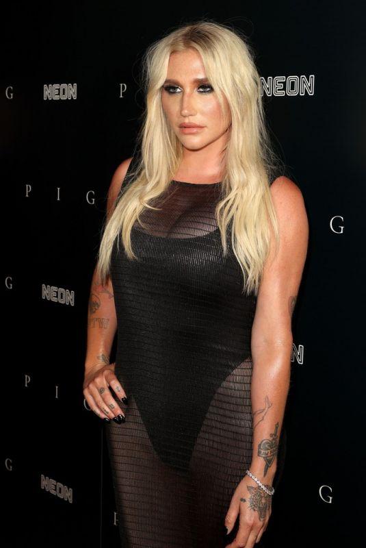 KESHA at Pig Premiere in Los Angeles 07/13/2021
