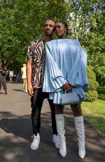 KIKI LAYNE at Pyer Moss Couture Show 07/10/2021