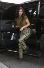 KIM KARDASHIAN and LALA ANTHONY Out in New York 07/16/2021