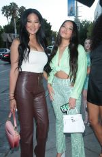 KIMORA LEE and MING LEE SIMMONS Out in Los Angeles 07/20/2021