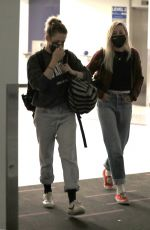 KRISTEN STEWART and DYLAN MEYER at LAX Airport in Los Angeles 07/09/2021