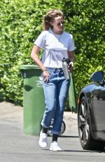 KRISTEN STEWART Out and About in Los Angeles 07/21/2021