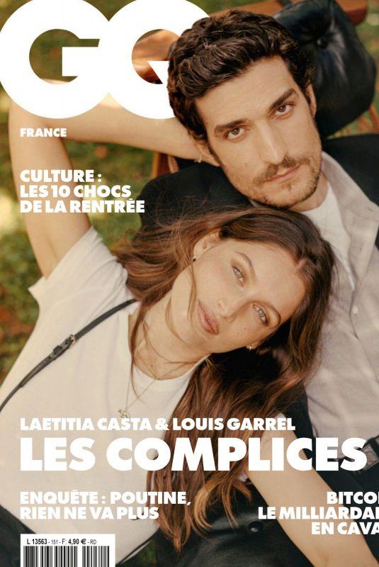 LAETITIA CASTA in GQ Magazine, France August 2021